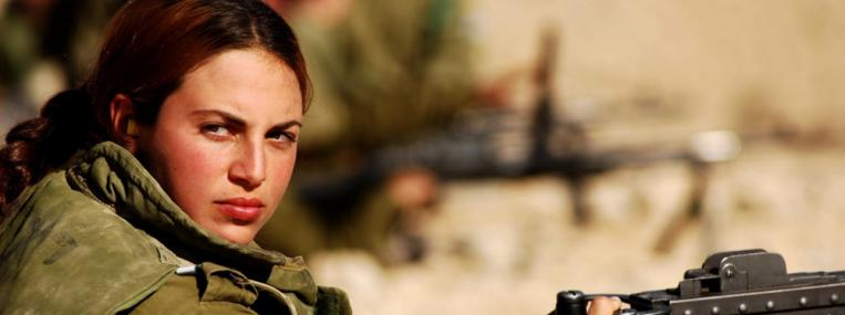 A female soldier in the Israeli Defense Force, where many women already serve in combat roles. (IDF)
