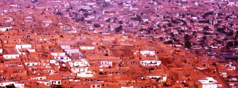 Photo of Kabul cityscape by Ed Ledford via Flickr