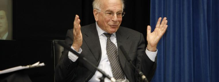 Photo of psychologist Daniel Kahneman by LSE in Pictures via Flickr