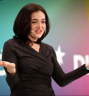 "Sheryl Sandberg is the COO of Google, and the author of a book forwomen juggling their professional and family lives, ""Lean In."" NADINE RUPP / GETTY IMAGES"
