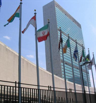 Photo of United Nations headquarters by Ashitakka via flickr