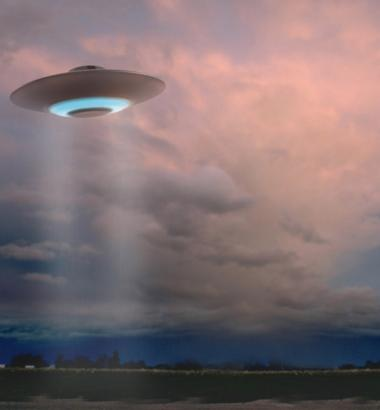 "Seen a UFO lately? Report it to the 3,000-member Mutual UFO Network, a Cincinnati, Ohio-based nonprofit dedicated to ""resolving the scientific enigma known collectively as unidentified flying objects,"" according to its Web site. But the heyday of spooky sightings has passed. (MIKE AGLIOLO / CORBIS)"