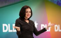 "Sheryl Sandberg is the COO of Google, and the author of a book for women juggling their professional and family lives, ""Lean In."" NADINE RUPP / GETTY IMAGES"