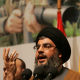 Would you give this man a nuclear weapon? Even the closest allies of Hezbollah leader Hassan Nasrallah would have good reason not to trust such a terrorist with so much power. (Newscom)