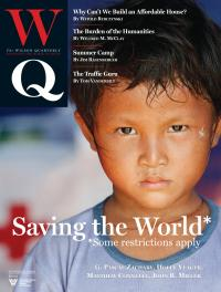 Saving the World Cover Image